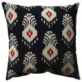 Pillow Perfect Ikat Crete 18-inch Throw Pillow