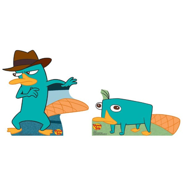 Agent P/ Perry Cardboard Stand-up