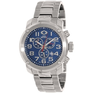 Swiss Precimax Men's Marauder Pro Silver Stainless-Steel Band Swiss Chronograph Watch