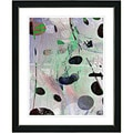 Studio Works Modern 'Plyos Play - Steel Green' Framed Art Print