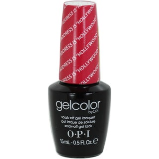 OPI GelColor My Address Is Not Hollywood Soak-Off Gel Lacquer