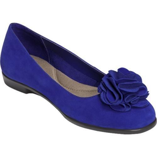 Women's Aerosoles Beccentric Bright Blue Combo Nubuck