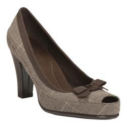 Women's Aerosoles Benefit Brown Fabric