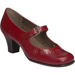 Women's Aerosoles Caricature Red