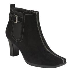 Women's Aerosoles Cinteresting Black Suede