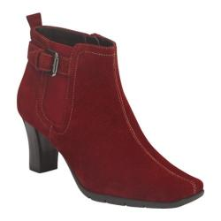 Women's Aerosoles Cinteresting Dark Red Suede