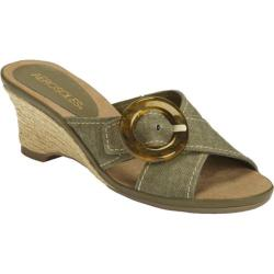 Women's Aerosoles Citizen Green Fabric