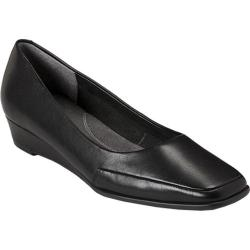 Women's Aerosoles Clean Slate Black Leather