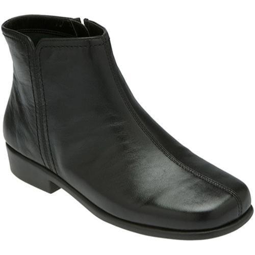 Women's Aerosoles Duble Trouble Black Leather