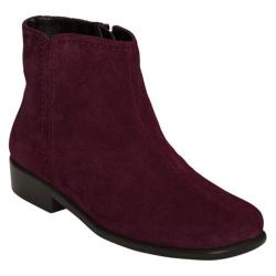 Women's Aerosoles Duble Trouble Wine Suede