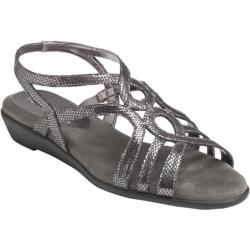 Women's Aerosoles Latte Silver Metallic