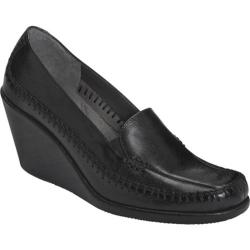 Women's Aerosoles Social Gathering Black Leather