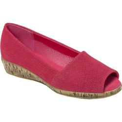 Women's Aerosoles Sprig Break Dark Pink Suede