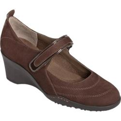 Women's Aerosoles Tornado Brown Nubuck