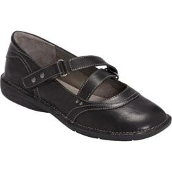 Women's Aerosoles Tuck N Roll Black Leather