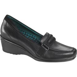 Women's Aetrex Marissa Loafer Black Leather