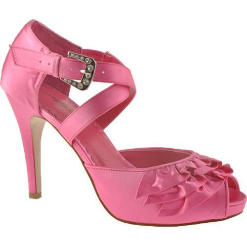 Women's Allure Bridals Gloss Pink Silk Satin