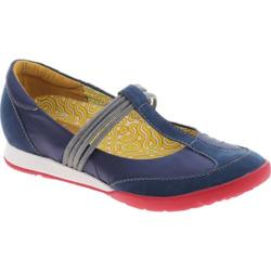 Women's dimmi Run Navy Fabric/Leather