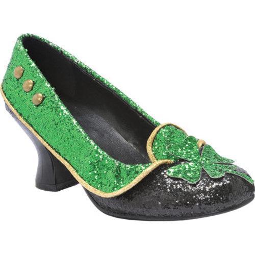 Women's Ellie Irish-254 Green Glitter