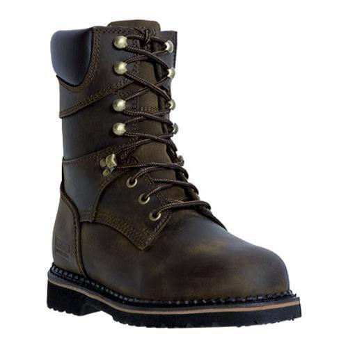 Men's McRae Industrial 8in Lacer MR88144 Dark Brown