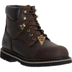 Men's McRae Industrial 6in Safety Toe Lacer MR86344 Dark Brown