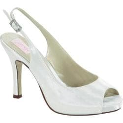 Women's Pink Paradox London Barbie White Satin