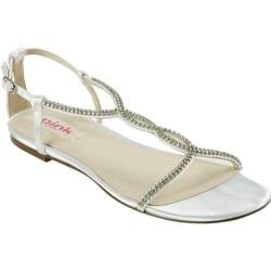 Women's Pink Paradox London Heaven White Satin