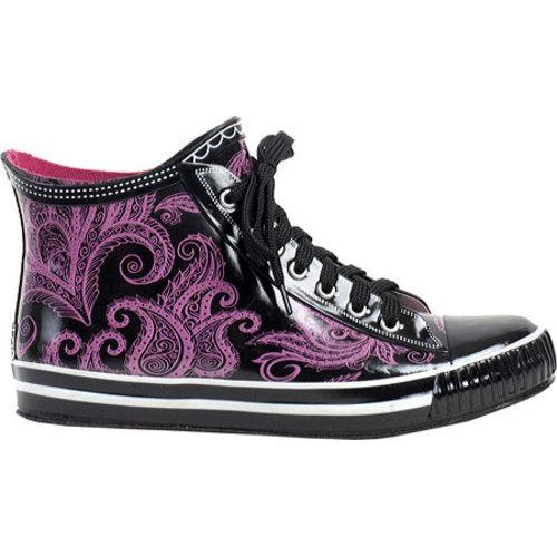 Women's RainBOPS High Top Style Rain Boot Pretty In Pink