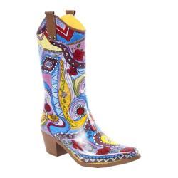 Women's RainBOPS Cowgirl Style Rain Boot Atzi