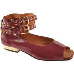 Women's Samanta Allyson Red Leather