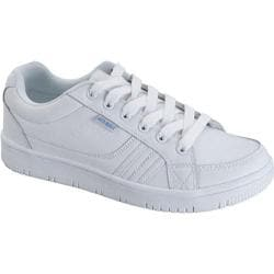 Women's Scrub Star Pansy White Leather