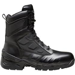 Men's Terra Grid 8in Black Leather