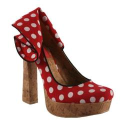 Women's Wild Diva Minka-05 Red Canvas