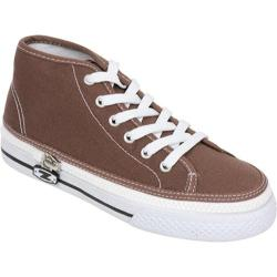 Children's Zipz Chocolat HiTop Brown