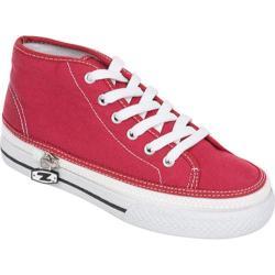Children's Zipz Cranberry HiTop Red
