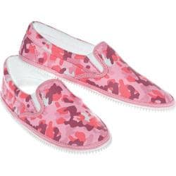 Children's Zipz Pink Camo Zip-On Covers Multicolored