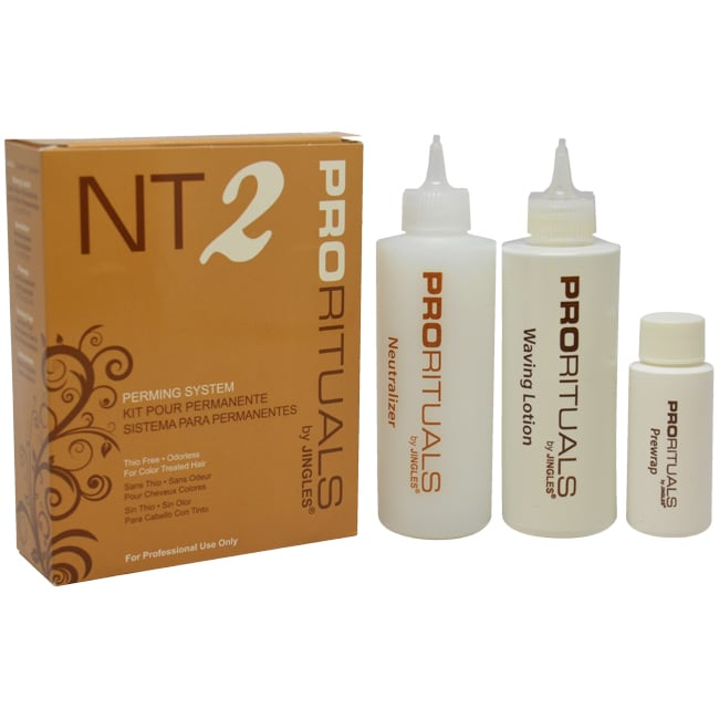 Jingles ProRituals NT2 Perming System for Color Treated Hair 1-Piece Kit