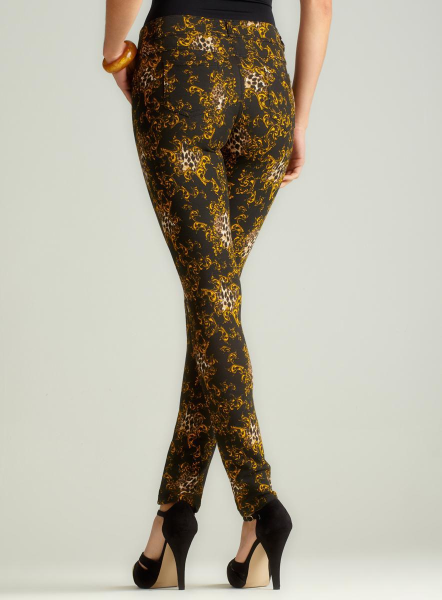 Like An Angel Versace Cheetah Moleton Skinny