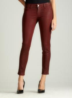 David Khan Brenda Skinny Coated Ankle