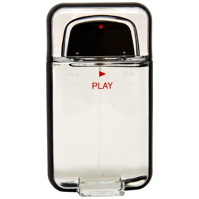 Givenchy Play Men's 3.4-ounce Eau de Toilette Spray (Tester)