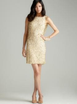 Pisarro Nights Cowl Back Sequin Dress