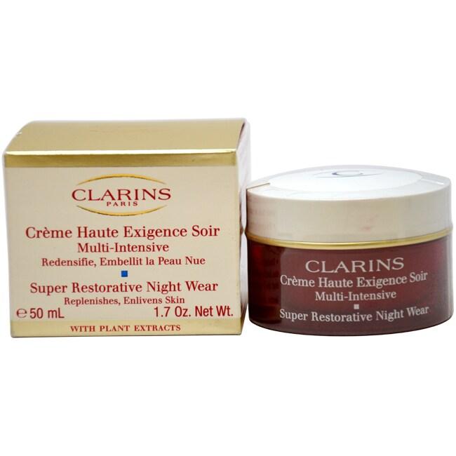 Super Restorative Night Wear by Clarins for Unisex - 1.7 oz Restorative Trtmt.