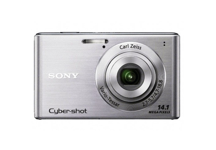 Sony Cyber-Shot DSC-W550 14.1MP Silver Digital Camera