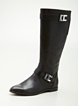 Calvin Klein Tracie Flat Riding Boot