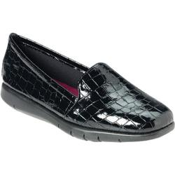 Women's Aerosoles Army Black Croco