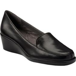 Women's Aerosoles Final Exam Black Leather