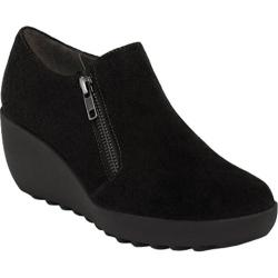 Women's Aerosoles Grated Cheese Black Suede