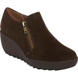 Women's Aerosoles Grated Cheese Dark Brown Suede