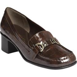 Women's Aerosoles Pepper Mill Mid Brown Faux Patent Croco