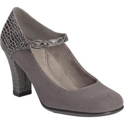 Women's Aerosoles Role With It Grey Croco